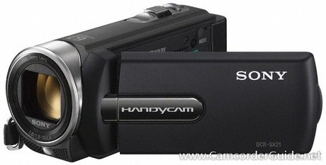Sony DCR-SX21E Camcorder Manual