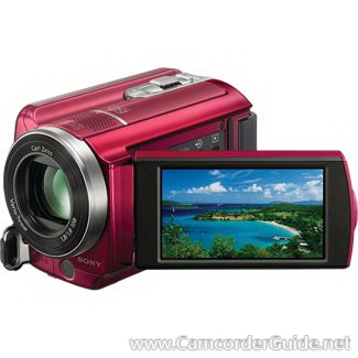 Sony DCR-SR68 Camcorder Manual